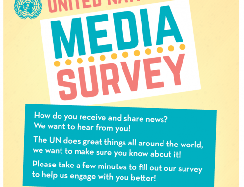 The United Nations needs your help! Participate in UN Media Survey