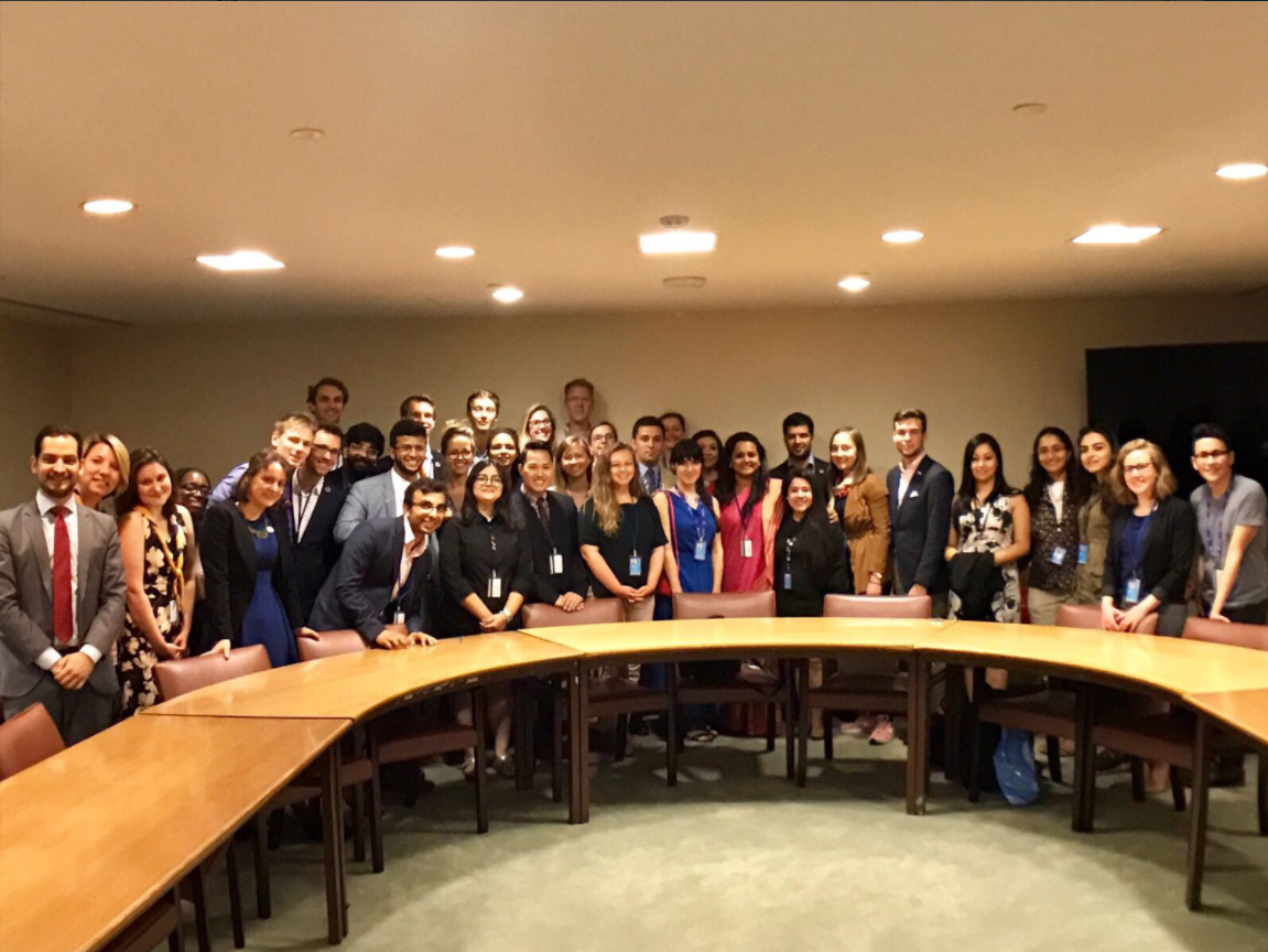 """""""VNRs are complex exercises and youth delegates can help bridge the gap between young people and these complex discussions"""" -Jayathma Wickranayake, Secretary-General's Envoy on Youth"""