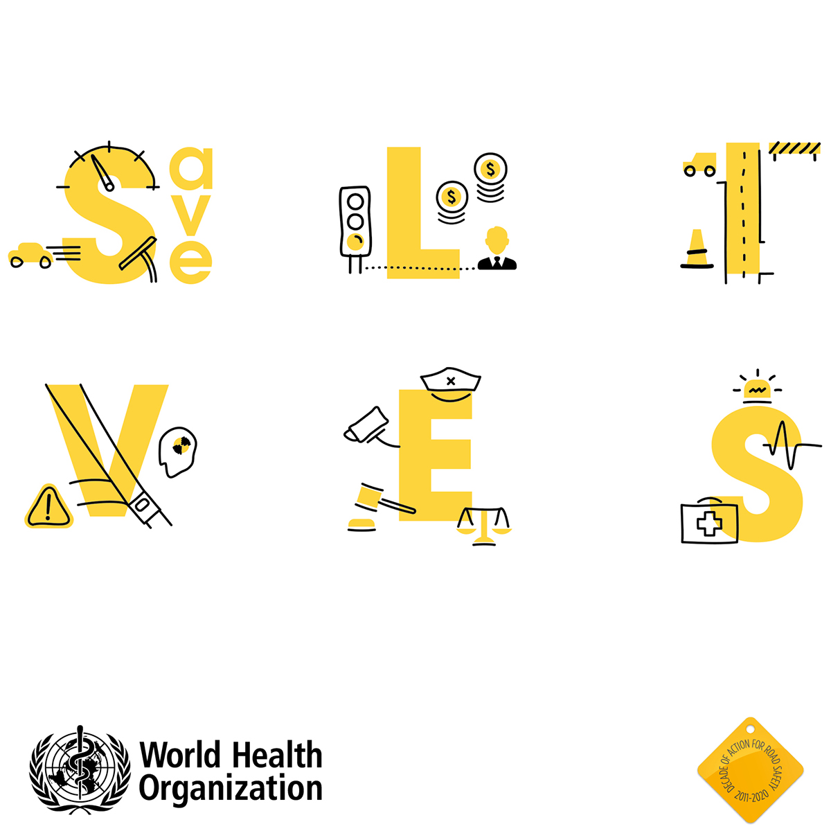 Speak Up to Save Lives – The 5th UN Global Road Safety Week - Office