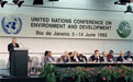 UN Conference on Environment and Development, known as the Earth Summit